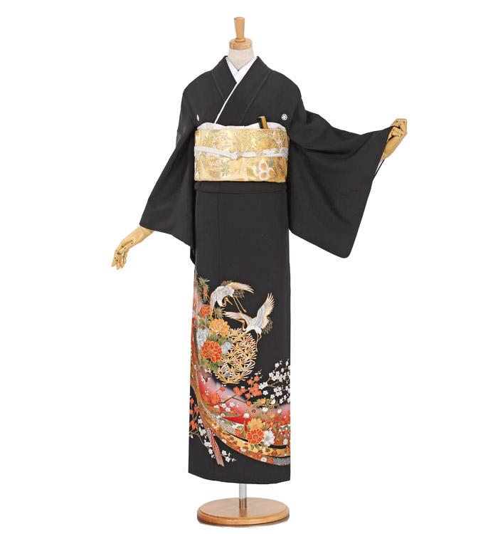 大きいサイズ 黒留袖 No.CA-0918-MO