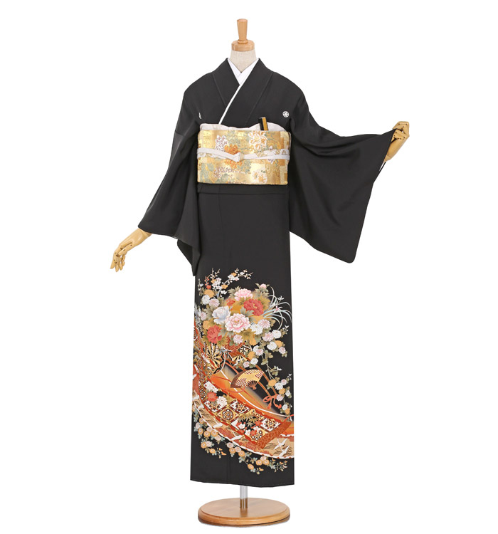 大きいサイズ 黒留袖 No.CA-0919-MOサイズ