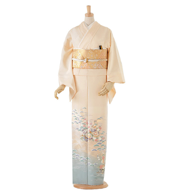 和田光正 色留袖 No.DA-0001-Lサイズ