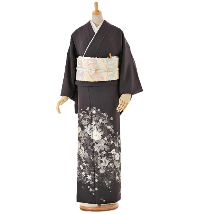 山口美術織物 色留袖 No.DA-0098-Lサイズ