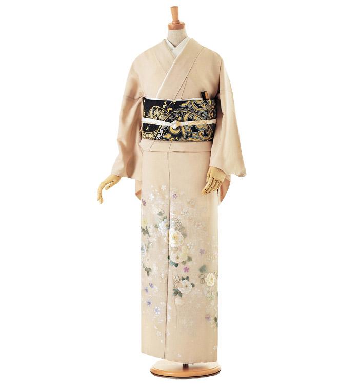 山口美術織物 色留袖 No.DA-0099-Lサイズ