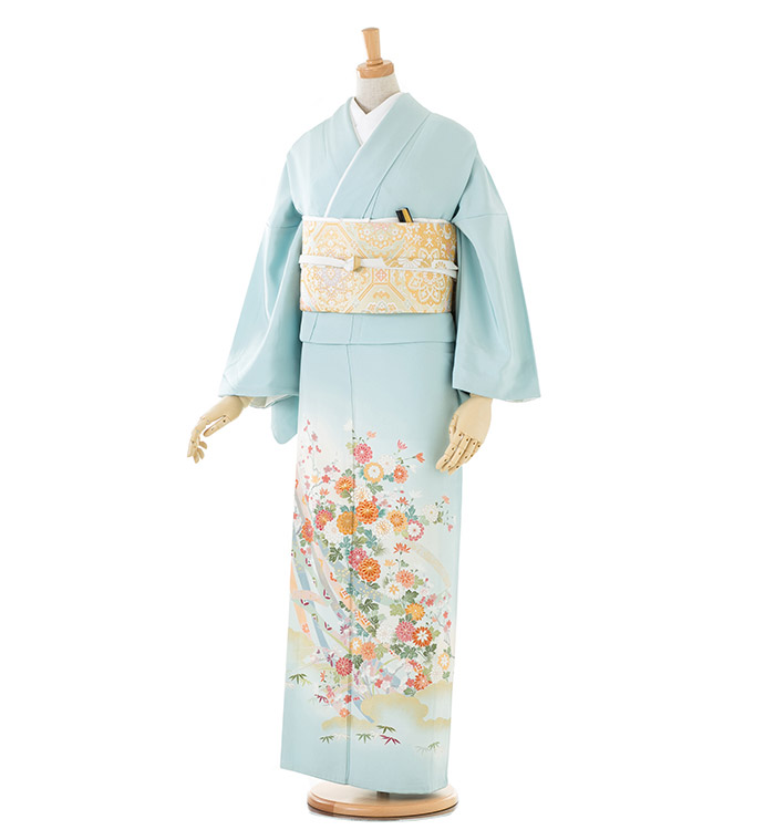 トールサイズ 色留袖 No.DA-0128-LLサイズ