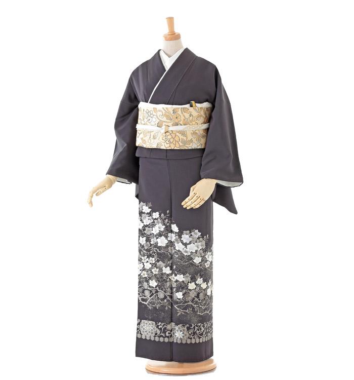 山口美術織物 色留袖 No.DA-0129-Mサイズ