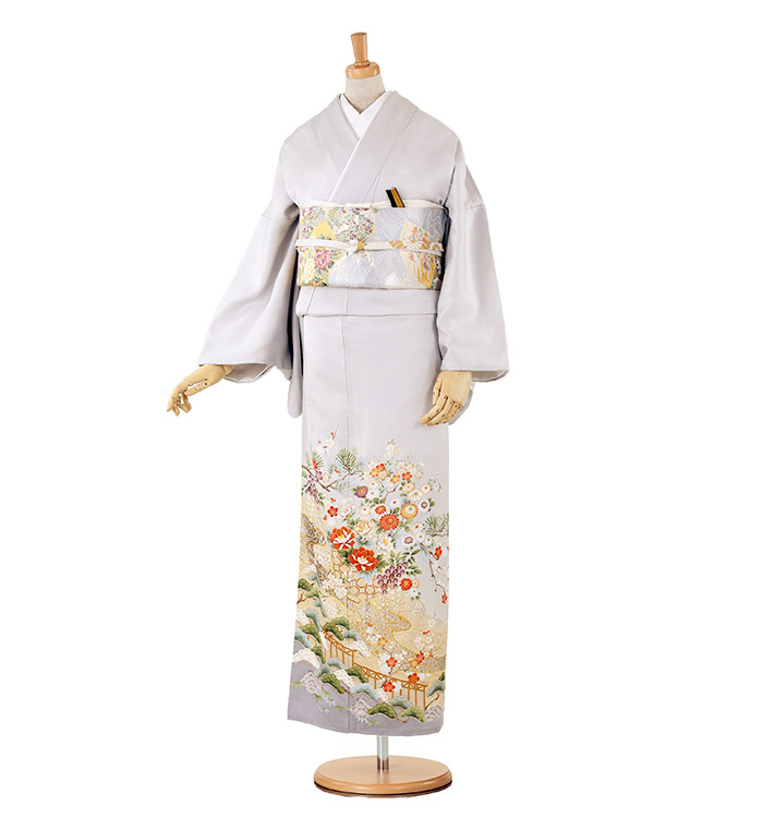 トールサイズ 色留袖 No.DA-0154-LLサイズ