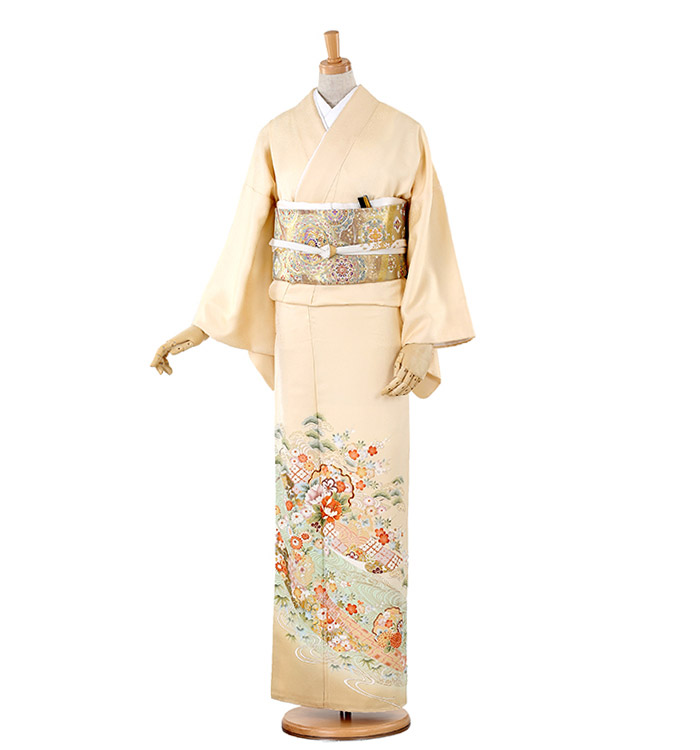 トールサイズ 色留袖 No.DA-0155-LLサイズ