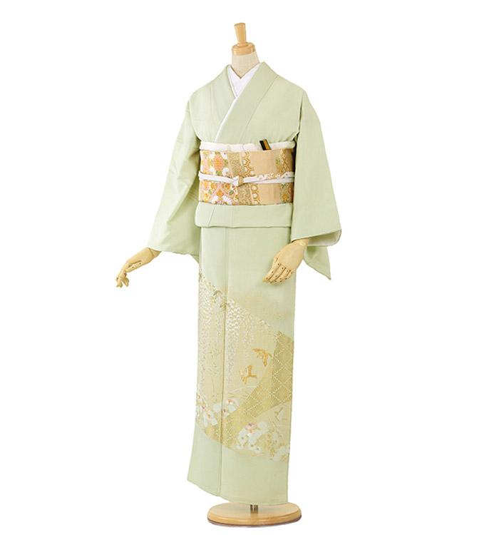 山口美術織物 色留袖 No.DA-0164-Lサイズ