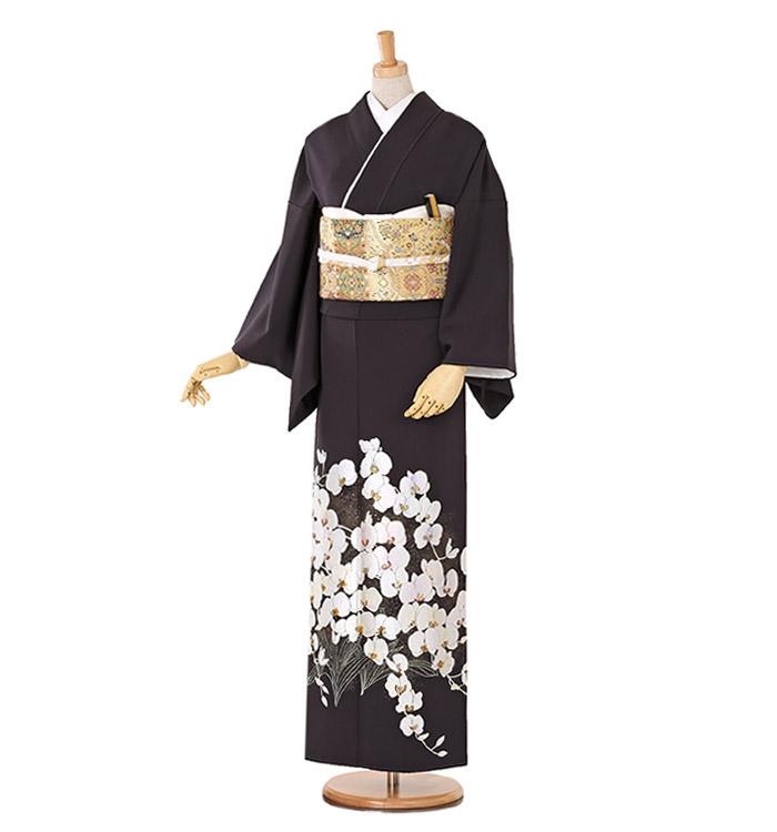 山口美術織物 色留袖 No.DA-0176-Lサイズ