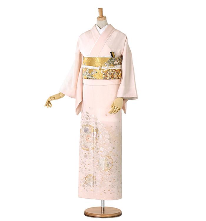 山口美術織物 色留袖 No.DA-0178-M