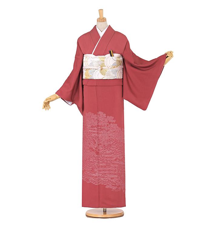 縫い取り 色留袖 No.DA-0477-M