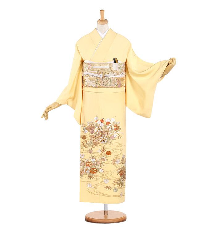 総刺繍 色留袖 No.DA-0572-Sサイズ