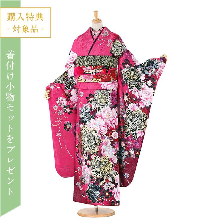 トールサイズ Twofacy dress 藤田志穂 振袖 No.EA-0299-LLサイズ/○