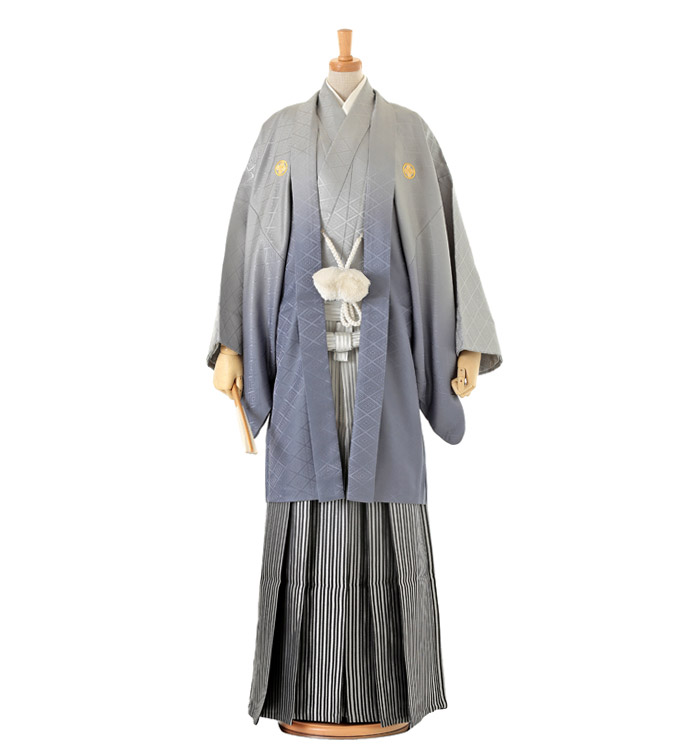 紋付袴 No.HE-0023-LLサイズ