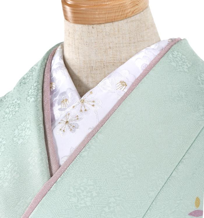 刺繍半衿付き正絹長襦袢-M No.ZA-5703-02_01