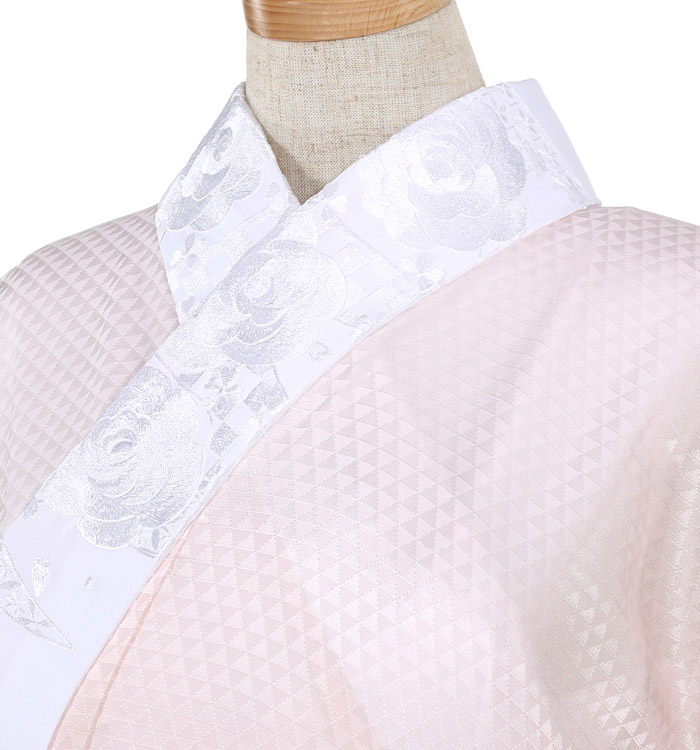 刺繍半衿付き正絹長襦袢-Lサイズ No.ZA-5706-03