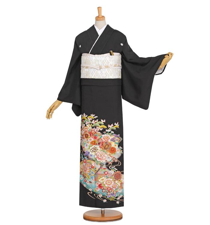 黒留袖 No.CA-0945-Lサイズ