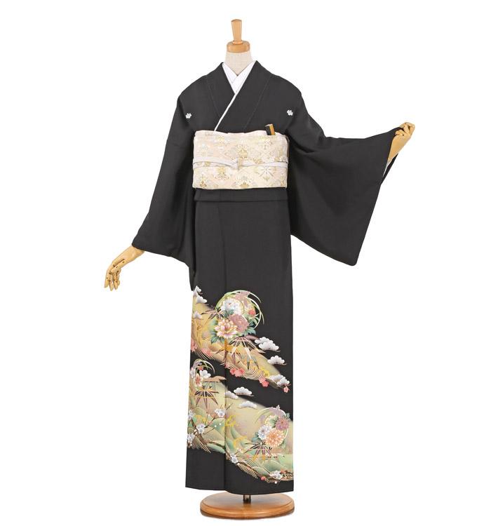黒留袖 No.CA-0952-Lサイズ