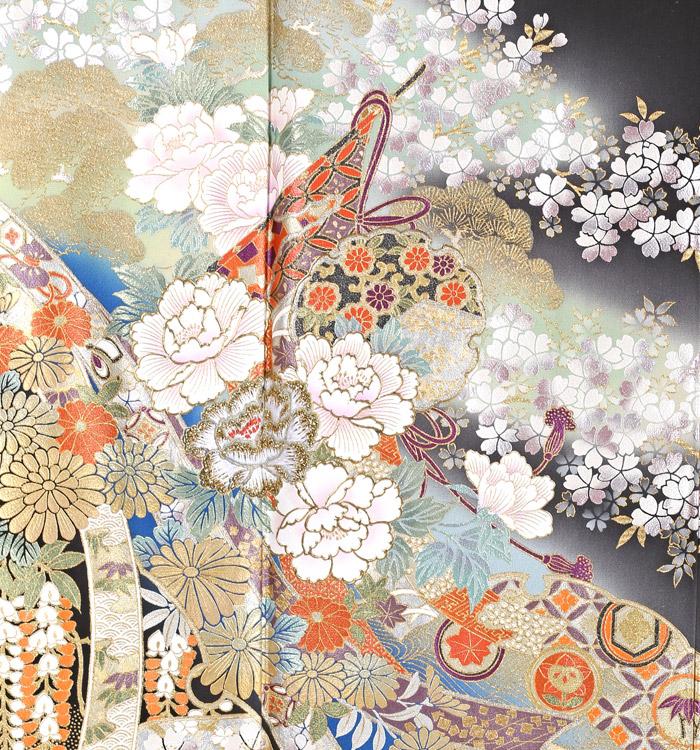 関芳 黒留袖 No.CA-0958-Sサイズ_05