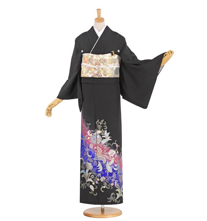黒留袖 No.CA-0988-Lサイズ