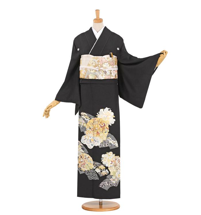 黒留袖 No.CA-1006-Lサイズ