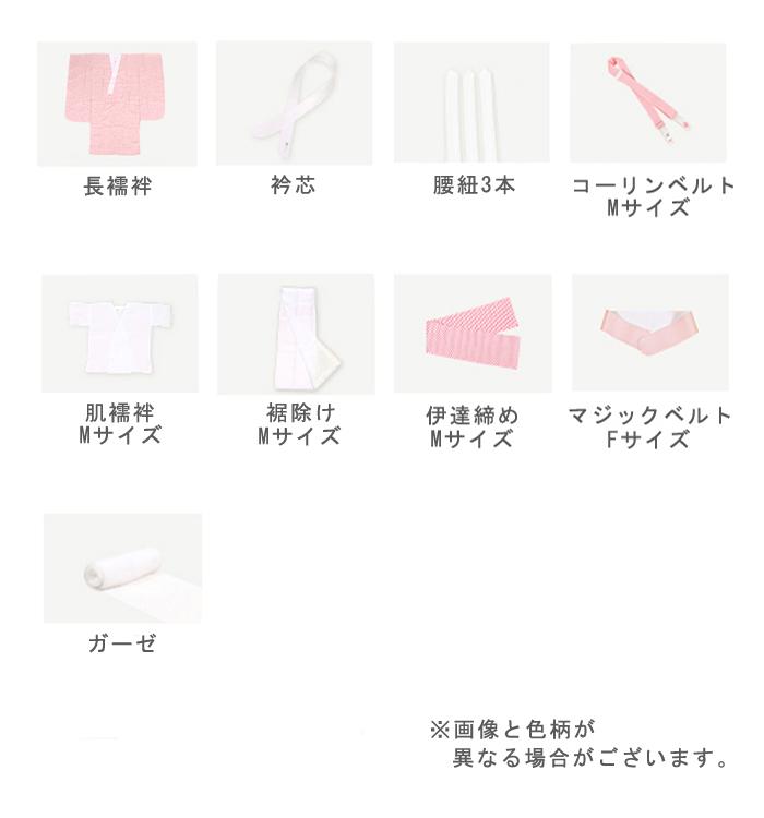 卒業袴用【2,000円以上お得!】長襦袢・肌着がついた着付け小物9点セット No.5ZA-0105_01