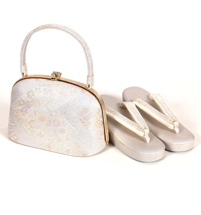 紗織 礼装用草履バッグ No.5ZA-2095-Sサイズ