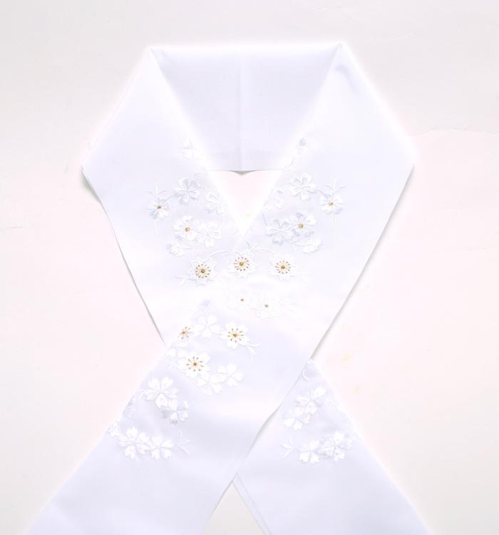刺繍半衿 No.5ZE-0009-00