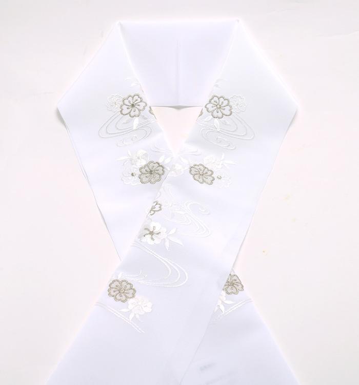 刺繍半衿 No.5ZE-0019-10