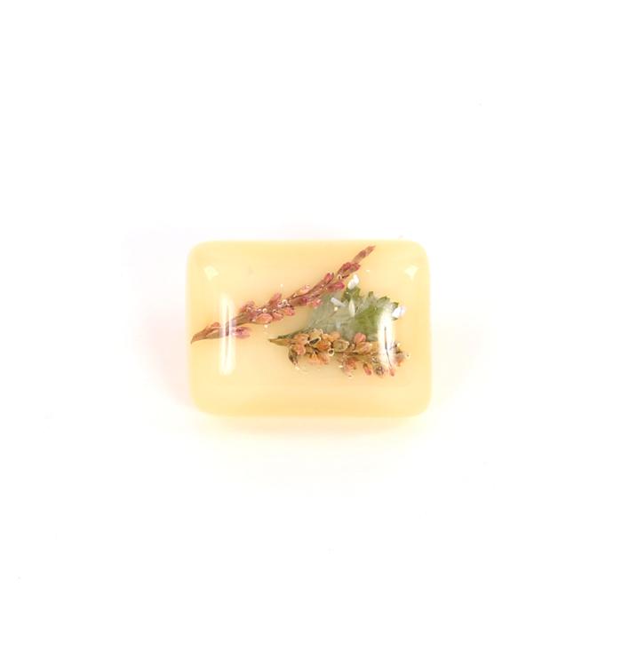 帯留 ドライフラワー No.5ZE-0077-10