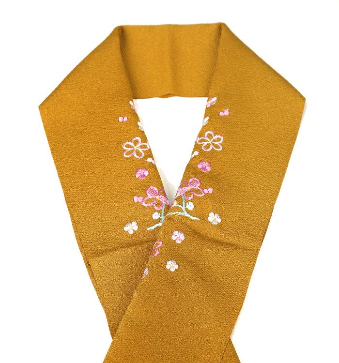 カラー半衿 刺繍半衿 No.5ZE-0265-50