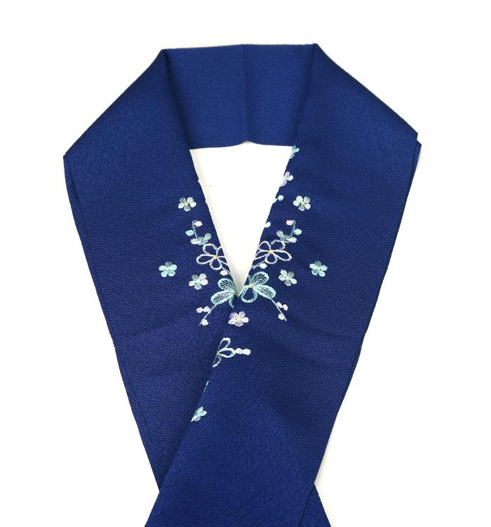 カラー半衿 刺繍半衿 No.5ZE-0265-60