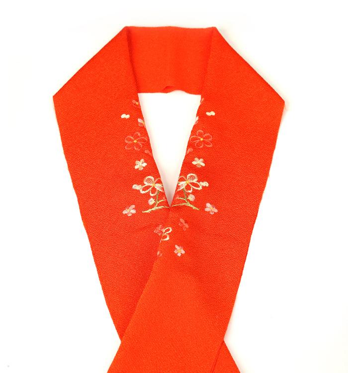カラー半衿 刺繍半衿 No.5ZE-0265-70