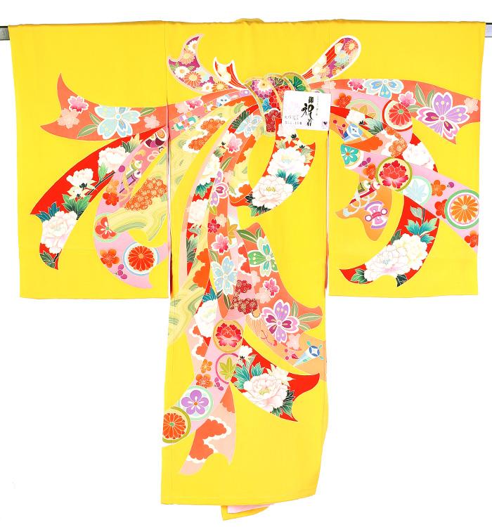 お宮参り衣装 掛け衣装 女児熨斗目 No.5ZH-0010-00