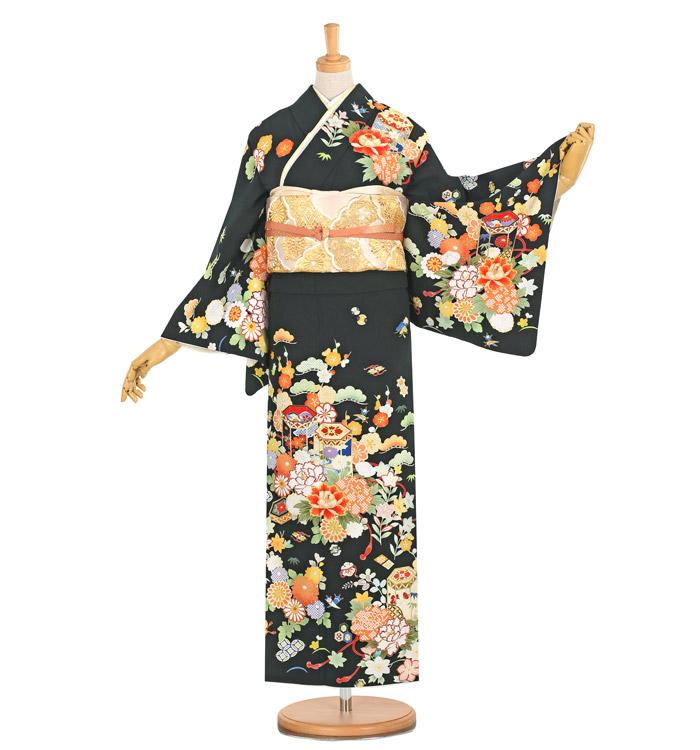 JAPAN STYLE 訪問着 No.AE-2390-M