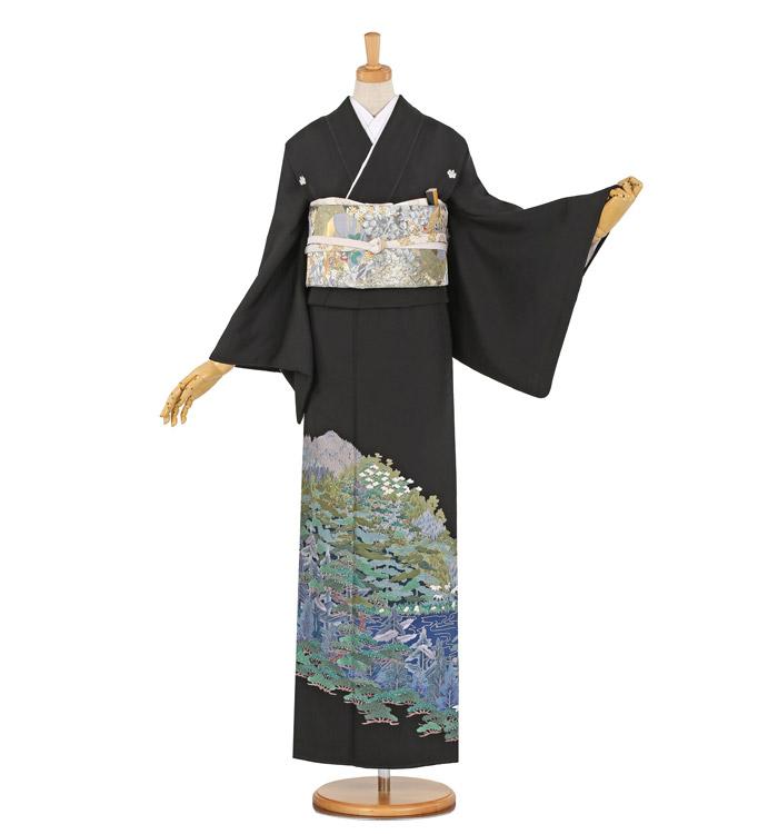 蘇州刺繍 黒留袖 No.CA-1015-Mサイズ