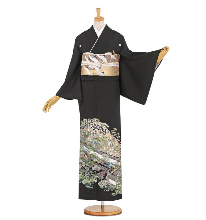 蘇州刺繍 黒留袖 No.CA-1019-M