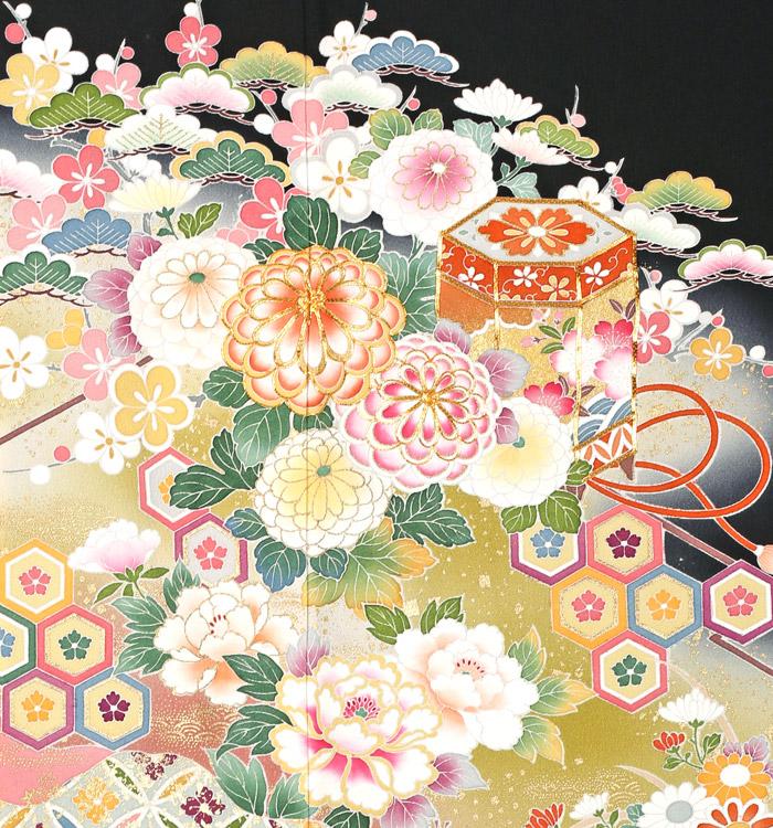 京友禅 大きいサイズ 黒留袖 No.CA-1086-MO_05
