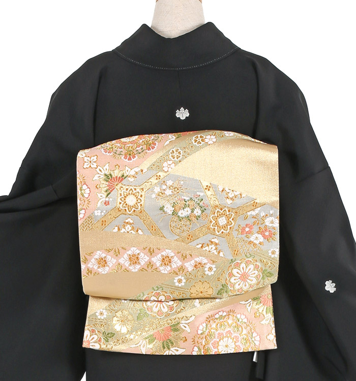 京友禅 大きいサイズ 黒留袖 No.CA-1086-MO_02