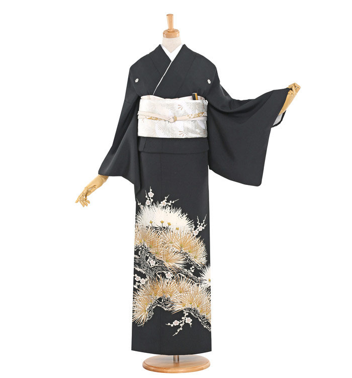 黒留袖 No.CA-1099-Lサイズ