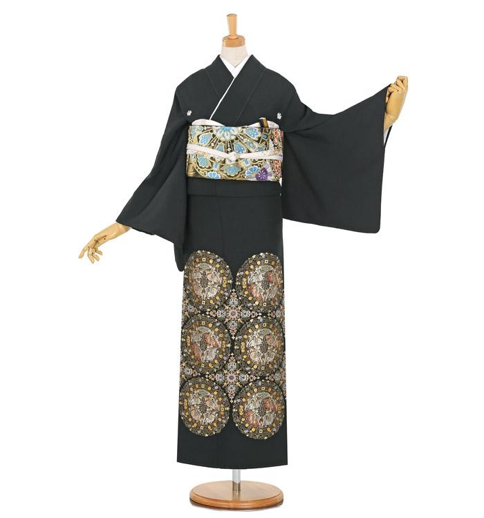 総刺繍 黒留袖 No.CA-1120-M
