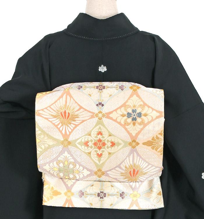 手描京友禅 大きいサイズ 黒留袖 No.CA-1139-LOサイズ_02