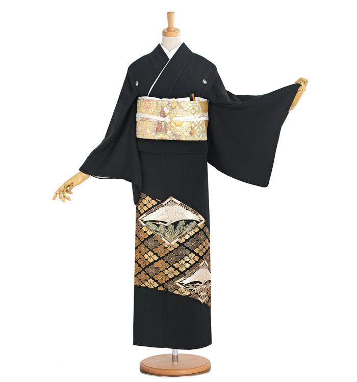 総刺繍 黒留袖 No.CA-1178-Sサイズ