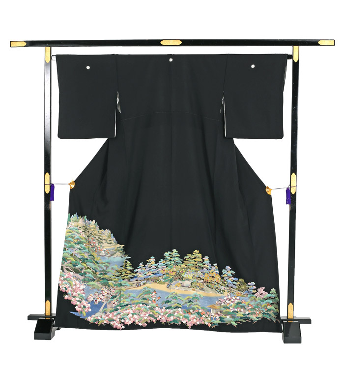 刺繍 黒留袖 No.CA-1186-S_03
