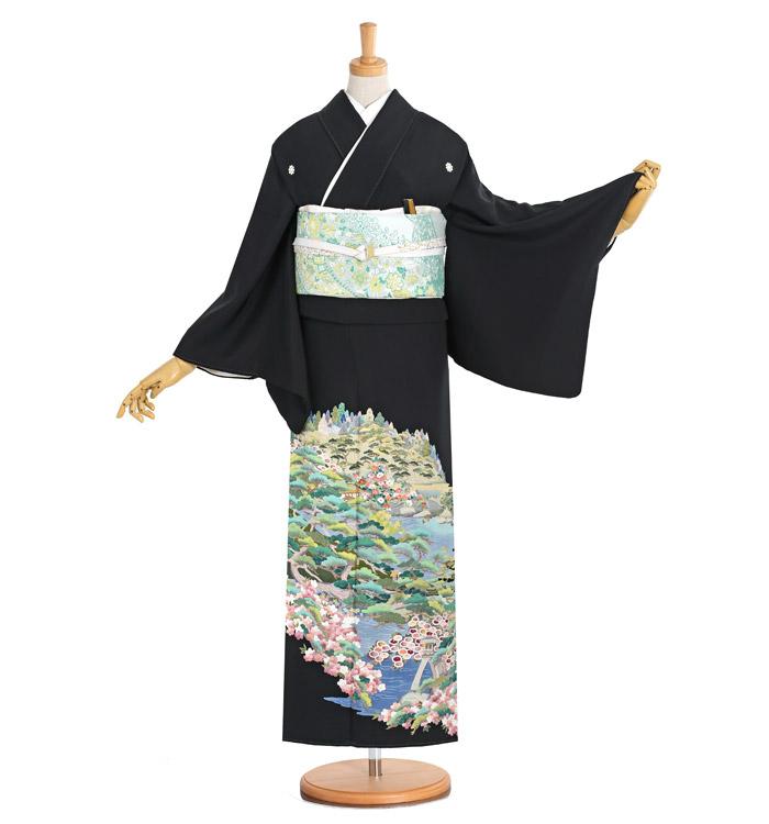 刺繍 黒留袖 No.CA-1186-S