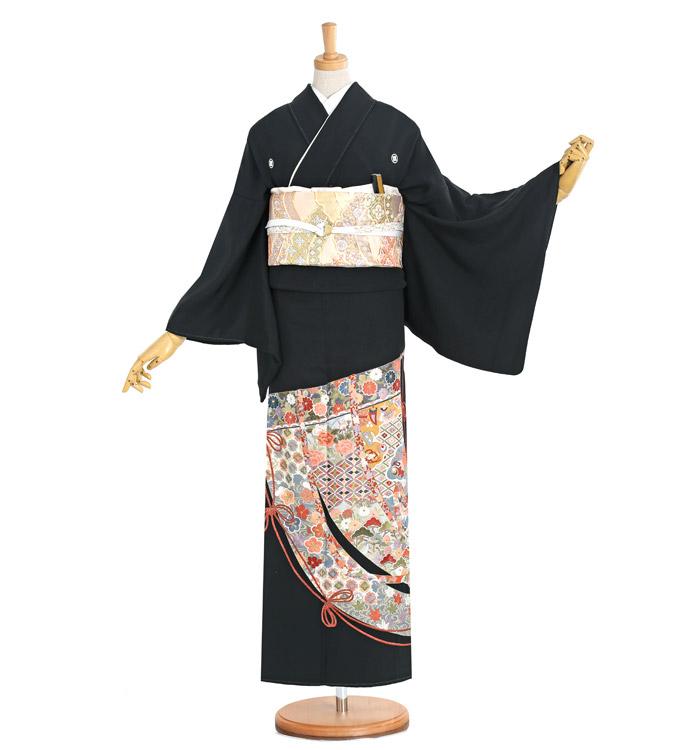 蘇州刺繍 黒留袖 No.CA-1187-Mサイズ