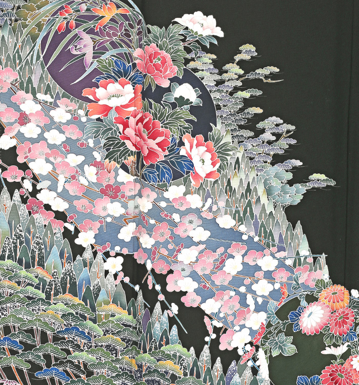 友禅 黒留袖 No.CA-1229-M_05
