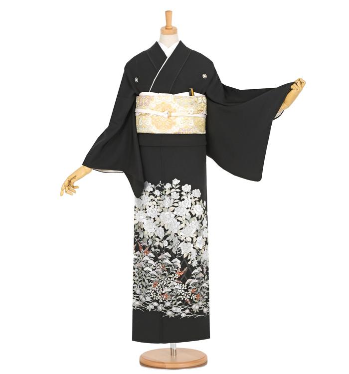 総刺繍 黒留袖 No.CA-1283-Mサイズ