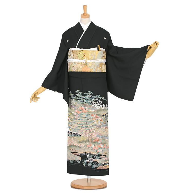 蘇州刺繍 黒留袖 No.CA-1285-S