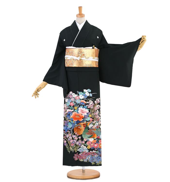 蘇州刺繍 黒留袖 No.CA-1334-M
