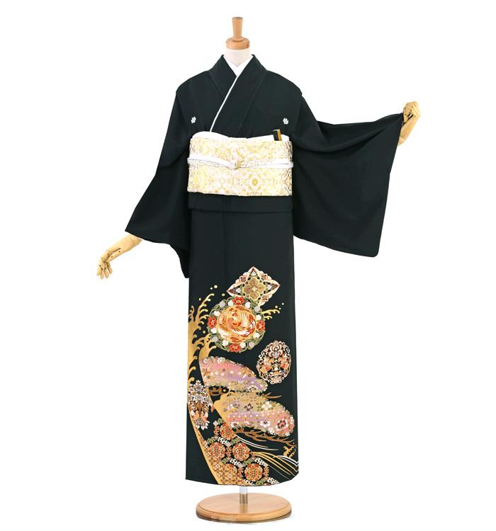 大きいサイズ 黒留袖 No.CA-1390-MOサイズ