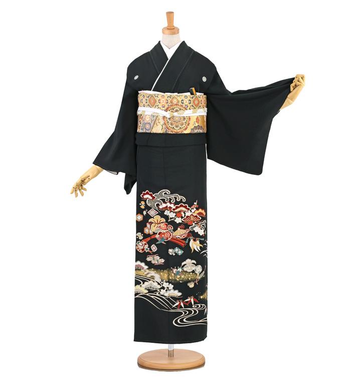 黒留袖 No.CA-1396-Sサイズ